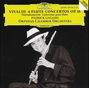 Vivaldi: 6 Flute Concertos Op.10 Product Image