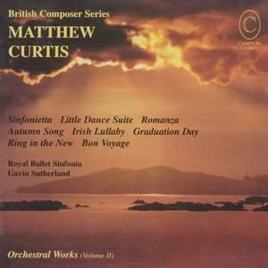 Matthew Curtis: Orchestral Works Vol. 3