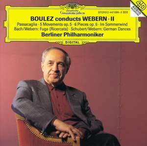 Boulez conducts Webern II