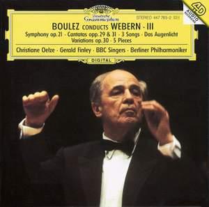Boulez conducts Webern III Product Image
