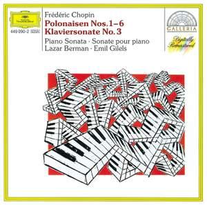 Chopin: Polonaises Nos. 1-6 & Piano Sonata No. 3 Product Image