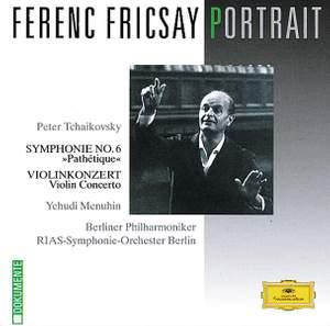 Tchaikovsky: Symphony No. 6 & Violin Concerto Product Image