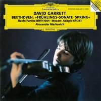 Beethoven: Violin Sonata No. 5, Bach: Partita No. 2 & Mozart: Adagio K261