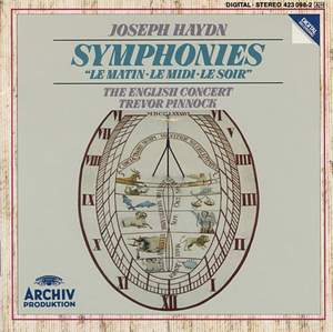 Haydn: Symphonies 'Le Matin', 'Le Midi' & 'Le Soir' Product Image