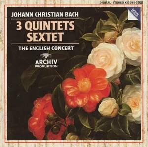 Johann Christian Bach: 3 Quintets & Sextet Product Image