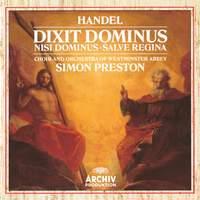 Handel: Dixit Dominus, Nisi Dominus & Salve Regina