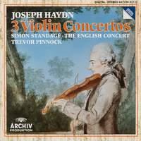 Haydn: Three Violin Concertos