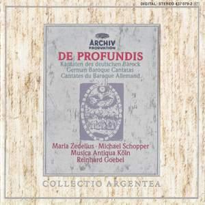 De Profundis: German Baroque Cantatas