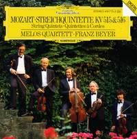 Mozart: String Quintets K515 & 516