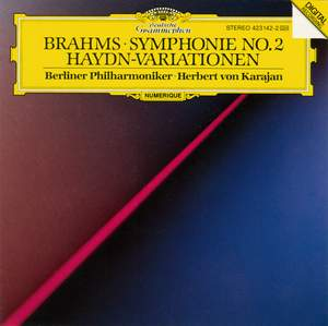 Brahms: Symphony No. 2 in D major, Op. 73 & St Anthony Variations Product Image
