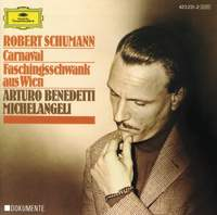 Schumann: Carnaval, Op. 9 & Faschingsschwank aus Wien, Op. 26