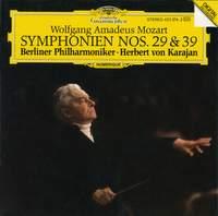 Mozart: Symphonies Nos. 29 & 39