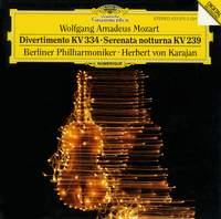 Mozart: Divertimento K334 & Serenata notturna K239