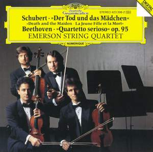 Schubert: Death and the Maiden & Beethoven: Quartetto serioso Product Image