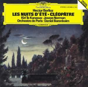 Berlioz: Les nuits d'été & Cléopatre