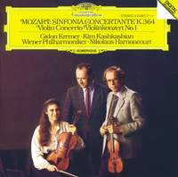 Mozart: Sinfonia Concertante K.364 & Violin Concerto No. 1