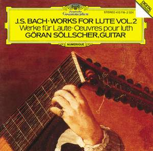 JS Bach: Works for Lute Vol.2