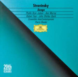 Stravinsky: Songs Product Image