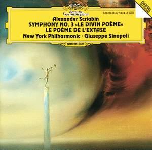 Scriabin: Symphonies Nos. 3 & 4 Product Image