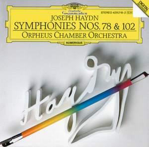 Haydn: Symphonies Nos. 78 & 102