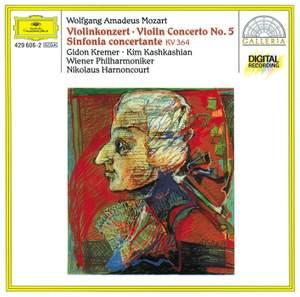 Mozart: Violin Concerto No. 5 & Sinfonia concertante K364