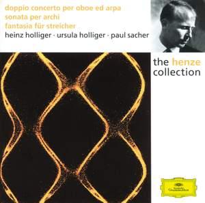 Henze: Double Concerto, Sonata for Strings & Fantasia for Strings