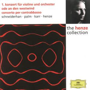 Henze: Violin Concerto No. 1 and other works Product Image