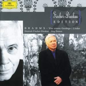 Brahms: Vier ernste Gesänge & Lieder