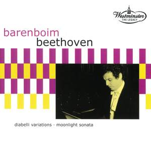 Beethoven: Diabelli Variations & Moonlight Sonata Product Image