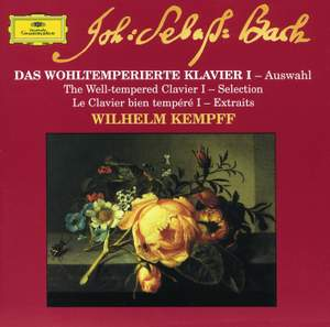 JS Bach: The Well-tempered Clavier I (selections)