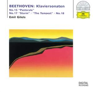 Beethoven: Piano Sonatas No. 15 'Pastorale', No. 17 'The Tempest' & No. 18 Product Image