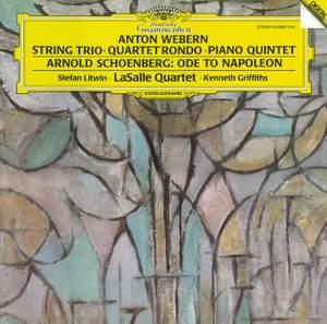 Schoenberg: Ode to Napoleon, Webern: Chamber Works