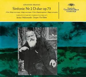 Brahms: Symphony No. 2 & Reger: Variations on a Theme by Mozart