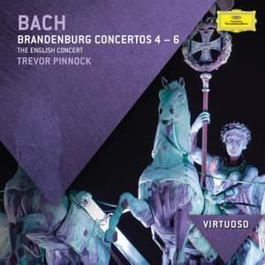 JS Bach: Brandenburg Concertos Nos. 4 - 6 Product Image