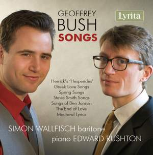 Geoffrey Bush Songs Product Image