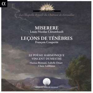 Miserere: Clérambault & Couperin