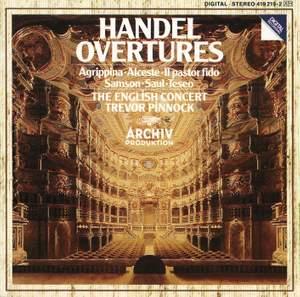 Handel Overtures