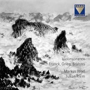Franck, Grieg & Brahms: Violin Sonatas Product Image