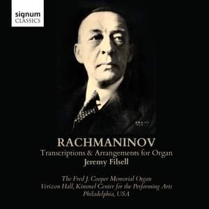Rachmaninov: Transcriptions & Arrangements for Organ