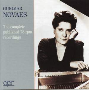 Guiomar Novaes: The complete published 78-rpm recordings