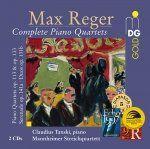 Reger: Complete Piano Quartets