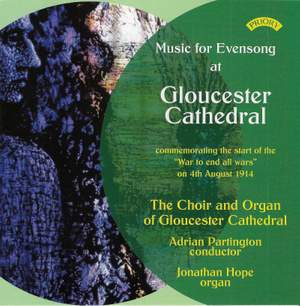 Music for Evensong at Gloucester Cathedral