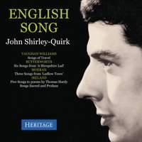 English Song: John Shirley-Quirk