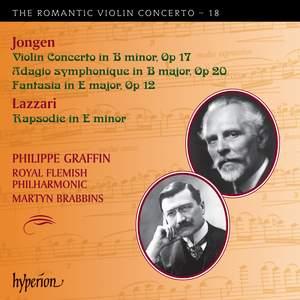 The Romantic Violin Concerto 18 - Jongen & Lazzari