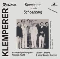 Klemperer Conducts Schoenberg