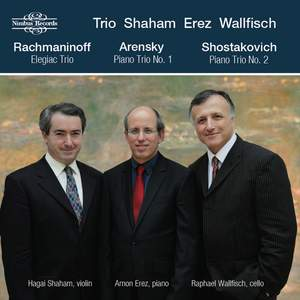 Rachmaninoff, Arensky, Shostakovich & Mussorgsky: Piano Trios Product Image