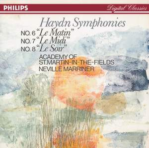 Haydn: Symphonies Nos. 6, 7, & 8 Product Image
