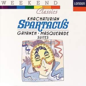 Khachaturian: Spartacus, Gayaneh & Masquerade Suites Product Image