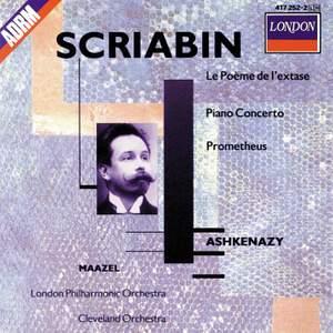 Scriabin: Le Poème de l'Extase, Piano Concerto & Prometheus