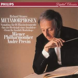 Strauss: Metamorphosen; Sonatina No. 1 for Winds